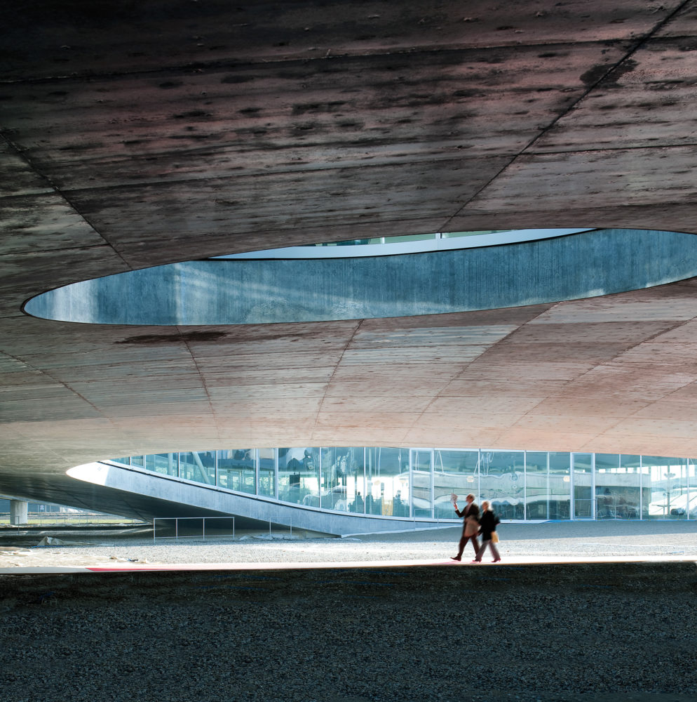 Architram – Rolex Learning Center