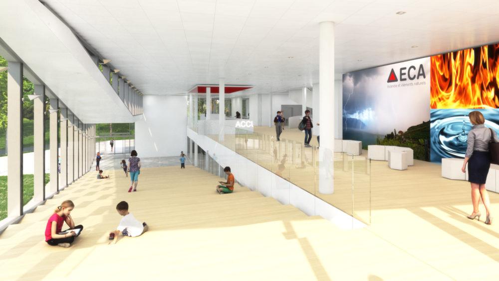Architram – Nouveau siège administratif de l'ECA