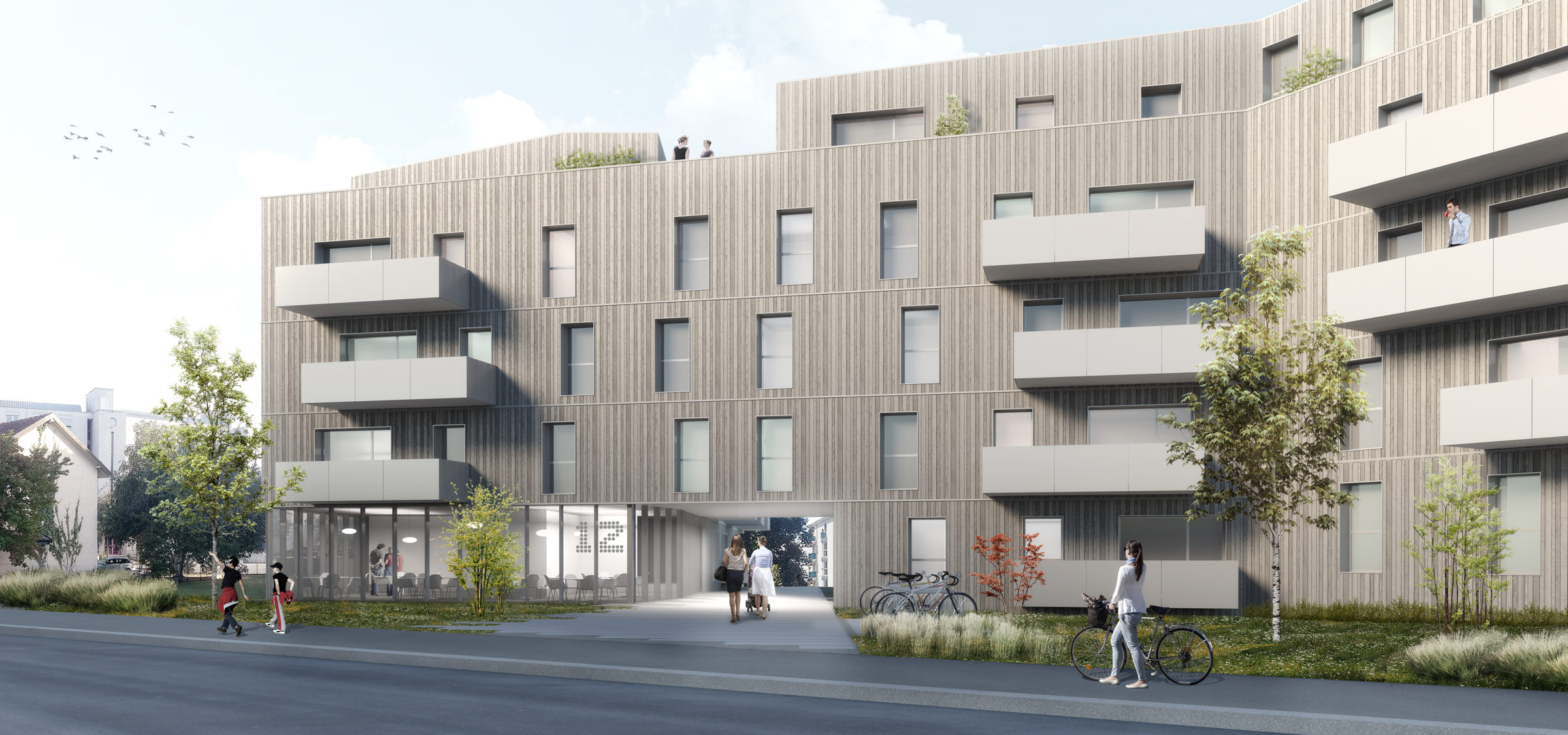 Architram – Logements durables Avenue des Paudex