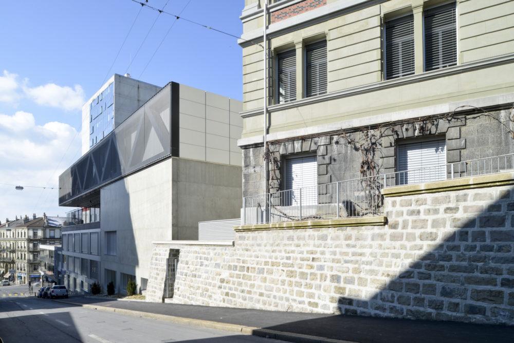 Architram – Collège de Villamont