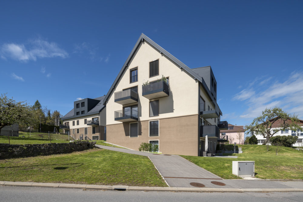 Architram – Ensemble villageois de 3 immeubles de logements