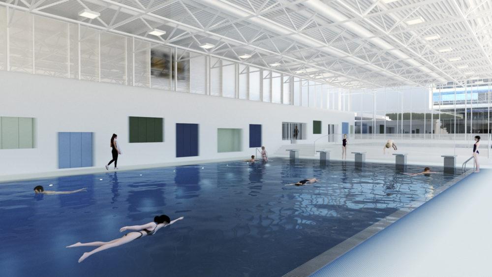 Architram – Rénovation du Centre Sportif du Rocher