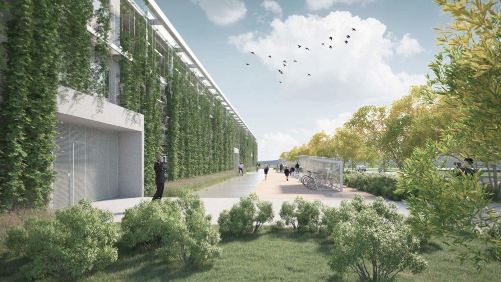 Architram – Parking mutualisé du Parc Scientifique et Technologique