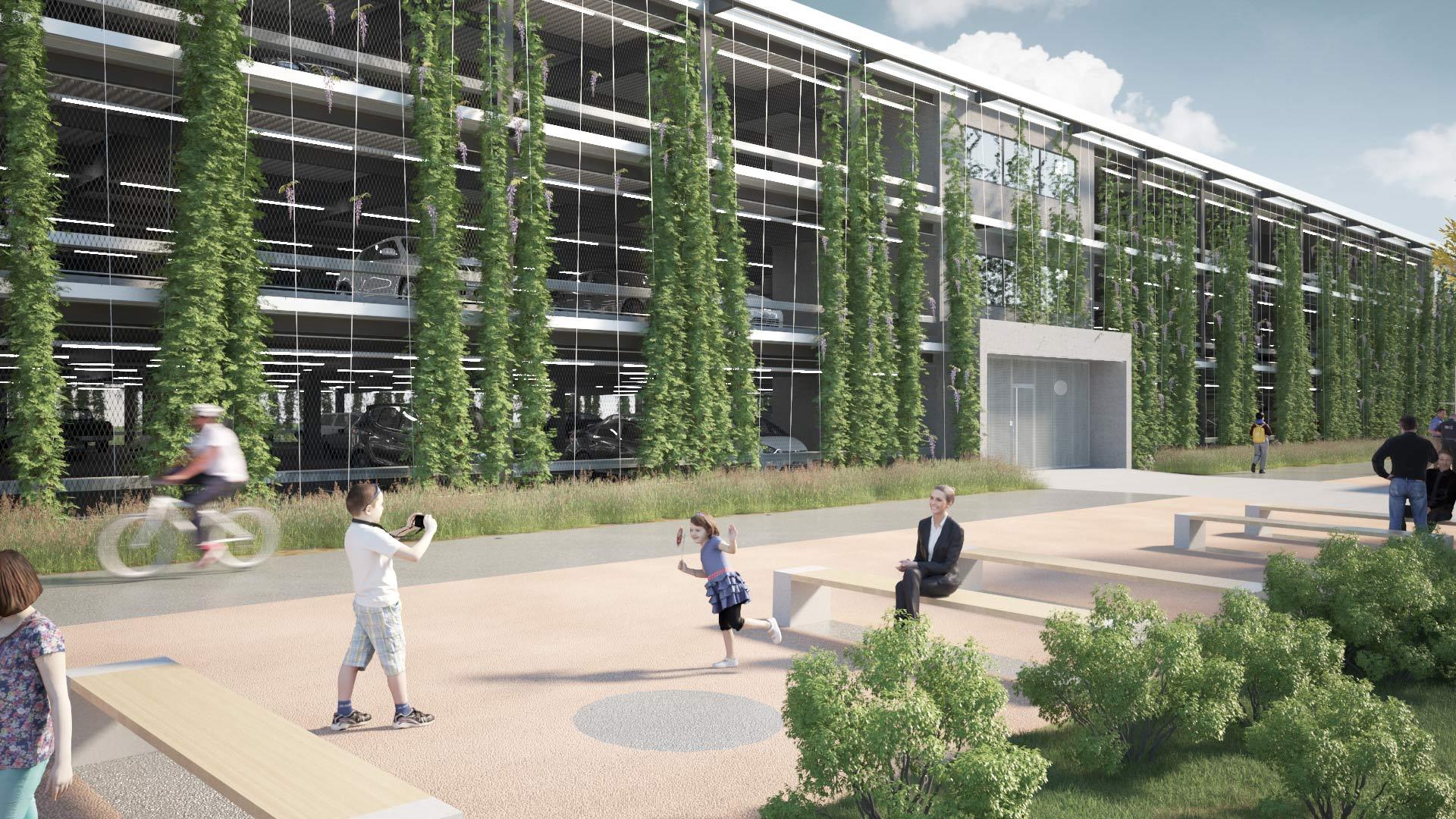 Architram – Parking mutualisé du Parc Scientifique et Technologique / PST