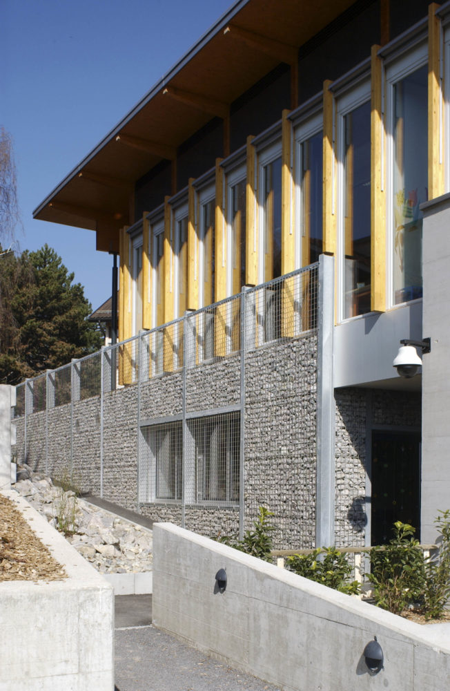 Architram – Collège de la Coquerellaz