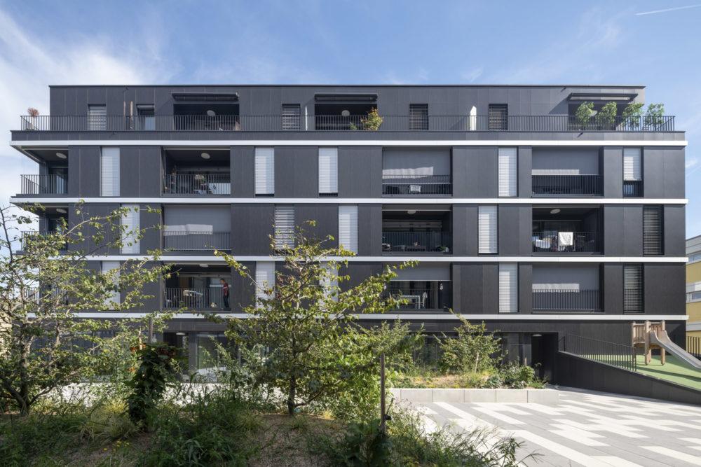 Architram – Immeubles à affectation mixte Chêne 18