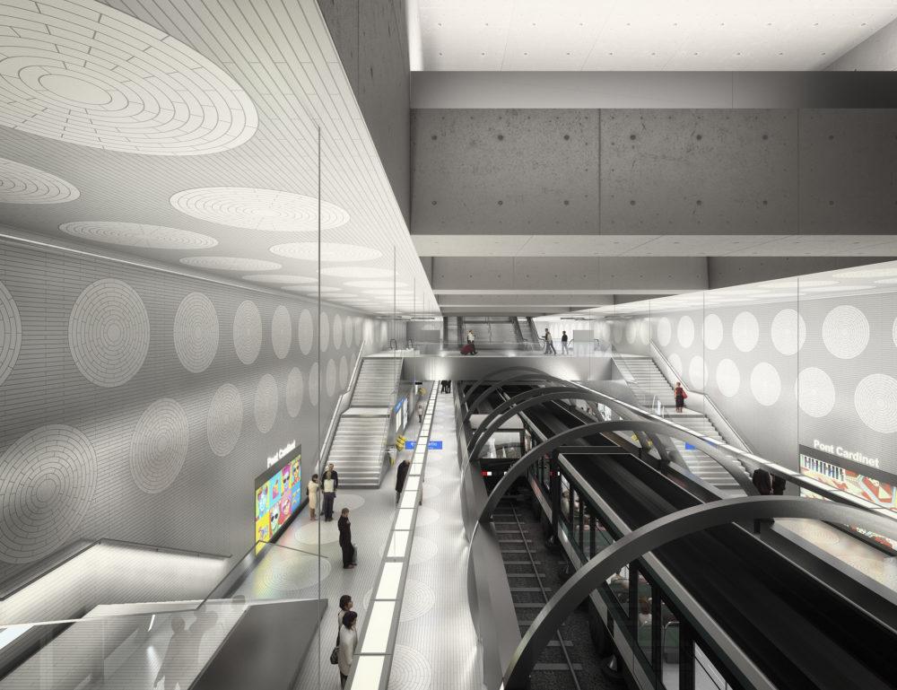 Architram – Métro ligne 14 – Prolongement de Saint Lazare à Saint Ouen