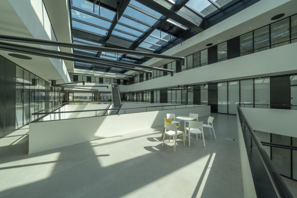Architram – EPFL – ME extension de la halle mécanique
