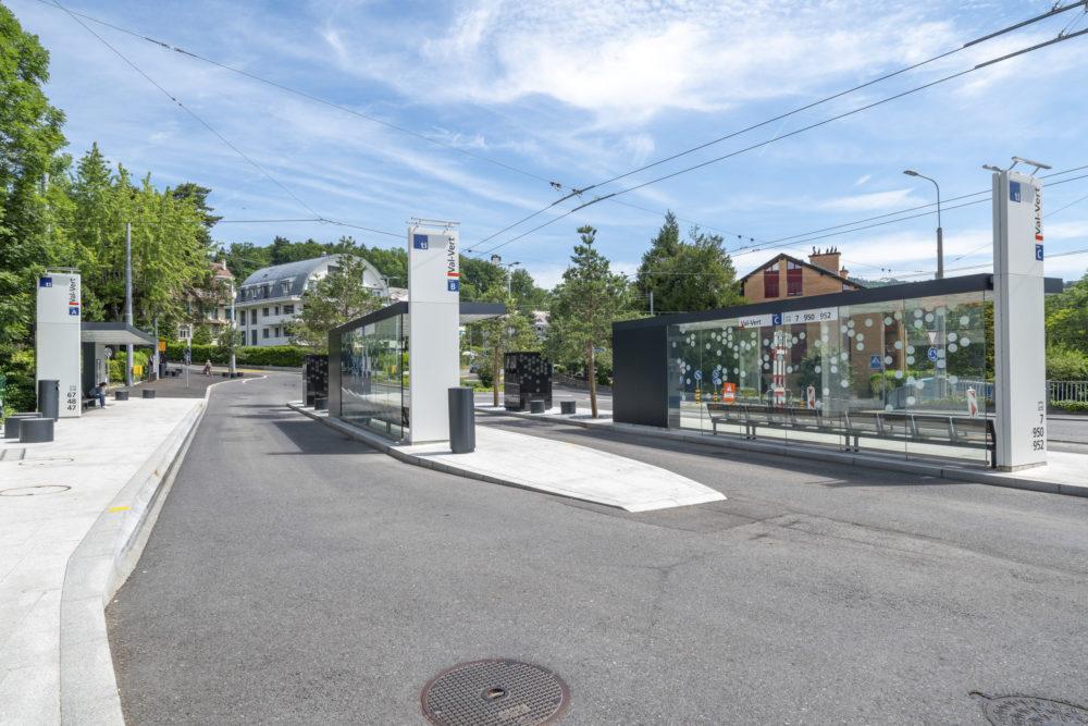 Architram – Réaménagement urbain du terminus de Val-Vert